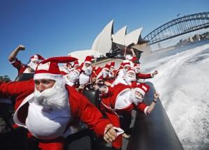 AUSTRALIA-CHRISTMAS-SPEEDBOAT