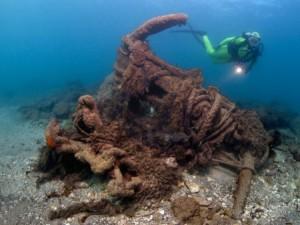 Puerto de Herodes – Israel Es un lugar perfecto para sumergirse en el mar, ya que se encuentran diferentes artefactos de naufragios y objetos de la época bizantina.