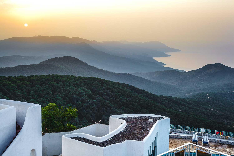 Vista de Argelia