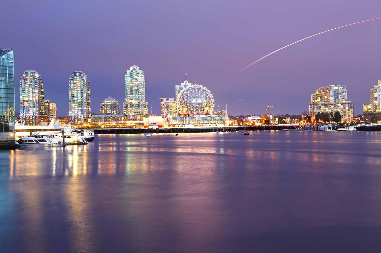 Mejores ciudades para vivir en Canadá Vancouver